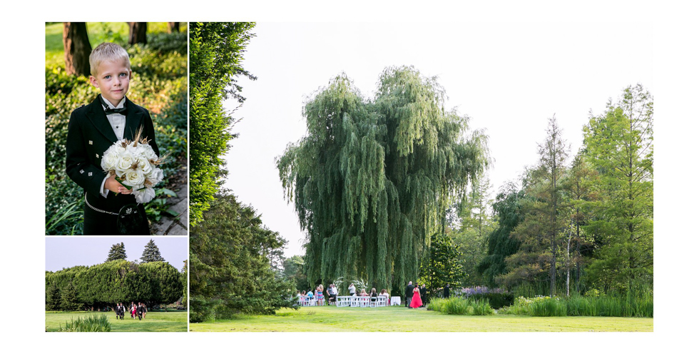 Niagara Falls Botanical Gardens Willowpond wedding