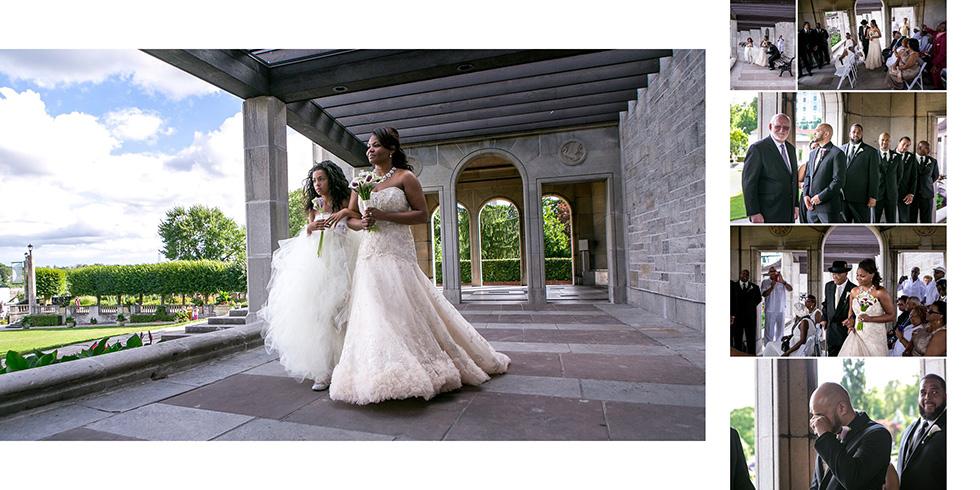Oakes Garden Theater wedding Niagara Falls