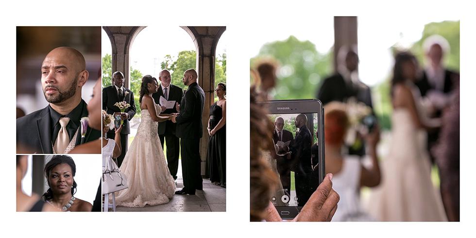 Niagara Falls wedding