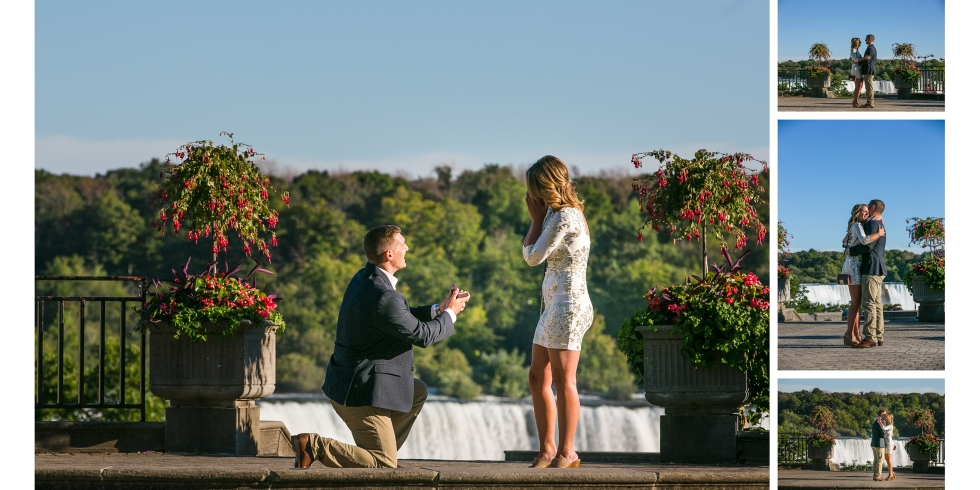 Niagara Falls Engagement Photography - Tony and Danica