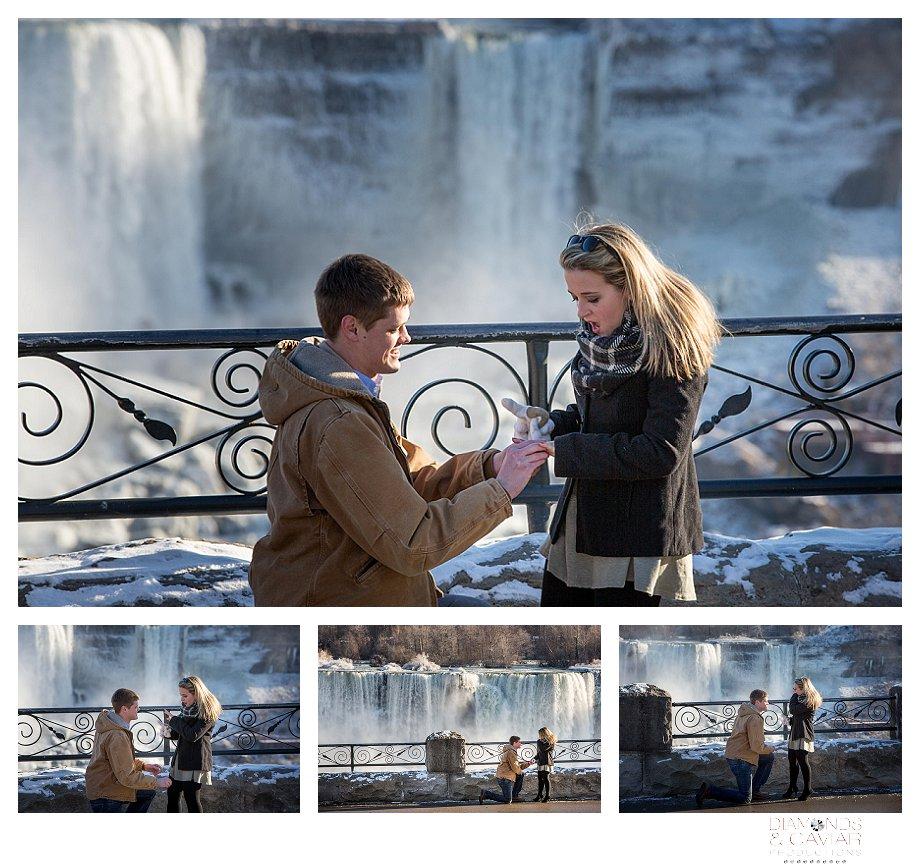 Niagara Falls engagement photography