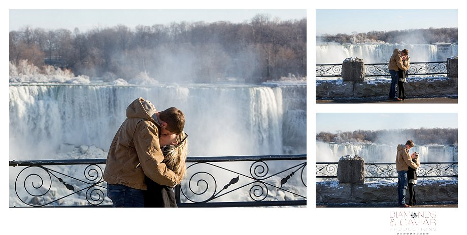 Wedding proposal Niagara Falls